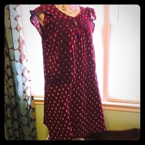 OLD NAVY tunic dress - made in India (L)